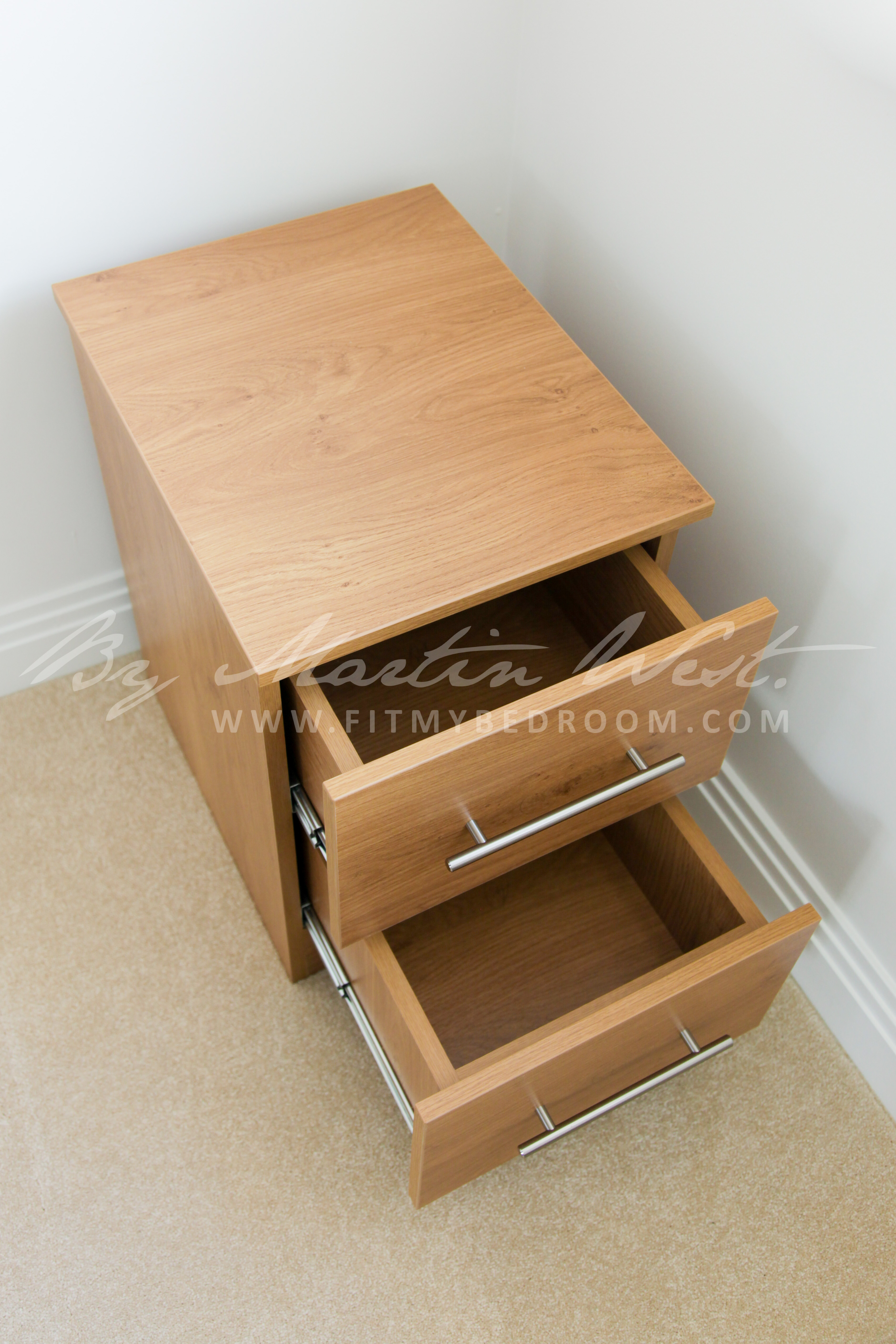 Custom Made Bedroom Furniture Including Cabinets And Drawers