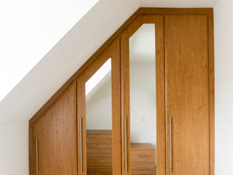 Bespoke Fitted Wardrobes Bedroom Furniture From Martin West London - Fitted loft bedroom furniture